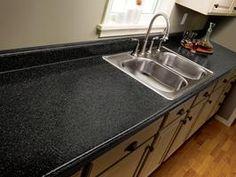 refinish laminate counter tops