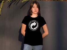 Karma What Goes Around Comes Around T-shirts for Women and Men. Secure checkout. #yoga #universe
