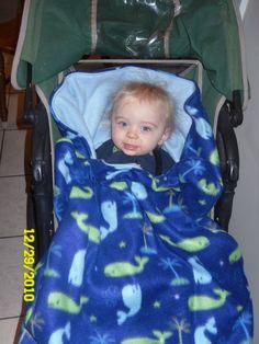 Stroller Snuggly Bunting Tutorial