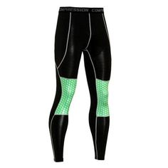 6f7603cc52 Men's Compression Leggings Fitness Pants Long Male Wokout Joggers Colorful  Pattern Tightsmodkily