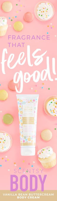 Fragrance that feels like your birthday! This vitamin-infused, mega-moisturizing formula softens and protects for your best skin ever. Perfect for after-shower hydration! 8 fl. oz. With sunflower oil and aloe. Decadent buttercream frosting made with the freshest butter whipped with cane sugar and vanilla extract.