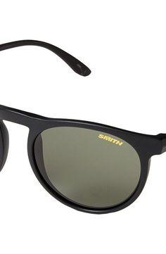 5f9ca1d85a Smith Optics Marvine (Matte Black Polar Gray Green Carbonic TLT Lenses)  Plastic Frame Fashion Sunglasses - Smith Optics