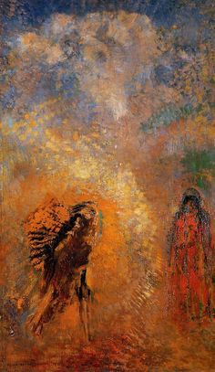 Odilon Redon ~ Apparition, 1905