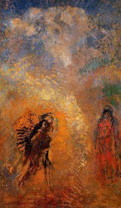 Odilon Redon ~ Apparition, 1905