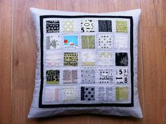 Pillow Talk { Swap } - finished by Fiona @ Poppy Makes, via Flickr