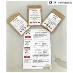 We are so excited that @thekidspost are trying out the latest @spicequarter subscription box!  How good is this? @spicequarter subscription boxes send you spice blends and matching #recipes every month and they're super #healthy and #quick. #parents if your're struggling to create new #meals for you and the #kids this definitely  helps.  #mums #moms #family #healthyliving #eating #mumlife #breakfast #lunch #dinner #thekidspost : www.spicequarter.com.au