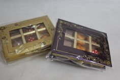 #chocolate box #designer Designer boxes with 6pcz of premium assorted chocolates  Available in different colours at https://www.facebook.com/chocofairies