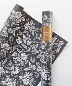Look what I found on #zulily! Graphite Lace Wrapping Roll - Set of Three by Rifle Paper Co. #zulilyfinds