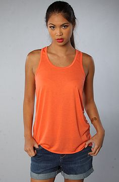 The Flowy Racerback Tank Top by Rise Up save 20% on your next karmaloop order with repcode: FLY20 see http://mykarmacodes.com for more info