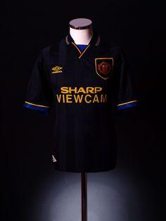 Manchester United 1993 away shirt