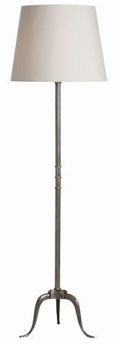 Beauregard Antique Silver Floor Lamp - Arteriors Home   Luxe Home Philadelphia