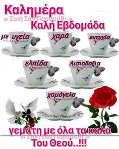 Good Morning Cards, Beautiful Pink Roses, Night Photos, Greek Quotes, Good Night, Diy And Crafts, Spiritual, Decor, Style
