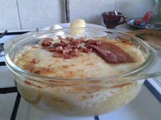 puliszka Polenta, Pudding, Cooking Recipes, Desserts, Comfortfood, Tailgate Desserts, Deserts, Custard Pudding, Chef Recipes