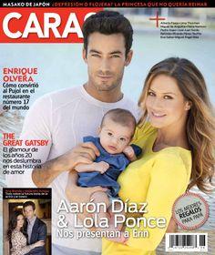 Aarón Díaz & Lola Ponce - Caras Magazin #Caras
