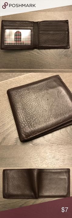 Men's Johnston and Murphy wallet Used brown Johnston and Murphy wallet Johnston & Murphy Accessories Money Clips