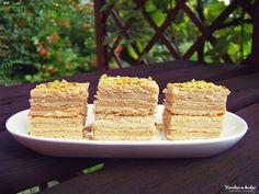 Ciasto herbatnikowo-budyniowe ( 1 porcja: 110,5 kcal ) | Karolina w kuchni