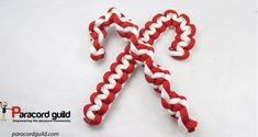 How to make two different paracord candy canes