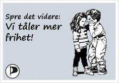 Piratpartiet mener nordmenn tåler mer frihet! Memes, Meme
