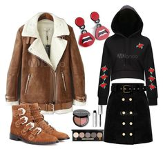 """""""Milanoo Winter Fashion Looks Four"""" by rubylee-ii on Polyvore featuring Bobbi Brown Cosmetics"""