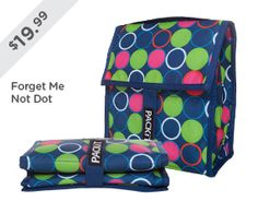 PackIt - freezable, foldable lunch bag, keeps food cold for up to 10 hours