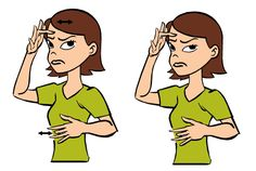 Video: Sick in Baby Sign Language Signing: Figure: Sick in Baby Sign Language Usage: . Flash Card: Click the link t Simple Sign Language, Baby Language, Sign Language Chart, Sign Language Phrases, Sign Language Alphabet, Learn Sign Language, British Sign Language, Asl Signs, Age Appropriate Chores