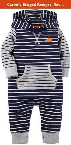 Baby-Girls Newborn Striped Polo Interlock Romper Polo Assn U.S