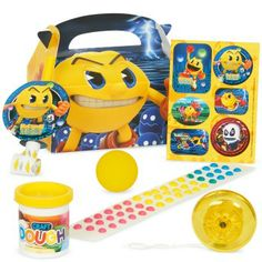 Pac-Man prefilled favor boxes