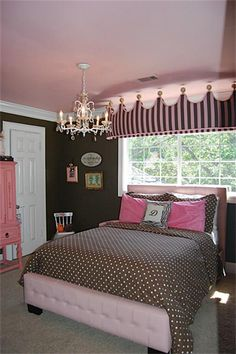 pink and brown bedroom | Dream Home | Teen bedroom designs, Teen ...