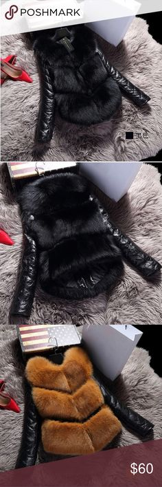 Woman's Faux fur coat Full description in photos. Will be available in early October! Must order now to receive on time ❤️ Jackets & Coats Puffers