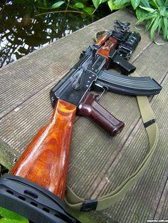 Peudo AKM (based on a modified TM - Weapons Lover Weapons Guns, Guns And Ammo, Ak 47, Kalashnikov Rifle, Ak Pistol, Lever Action Rifles, Military Guns, Hunting Rifles, Assault Rifle