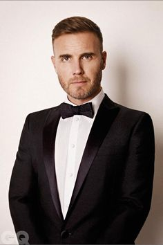 Daniel who? Barlow for Bond Louis Walsh, Tulisa Contostavlos, Gary Barlow, Robbie Williams, Gq Magazine, Fade Haircut, Rock Style, Haircuts For Men, Short Hair Cuts