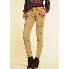 Mango Damen Hosen Gr. 32 Camel Neu, Hose Pants Jeans Cargo Damenhosen Beige