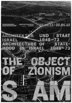 The Object of Zionism | S AM Schweizerisches Architekturmuseum