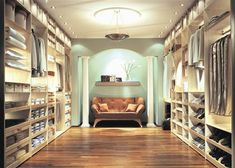 between me and my husband, we need this much closet space