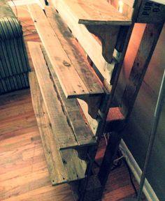 Pallet Shelf by PurePallets on Etsy, $125.00
