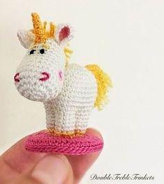 Cute Tiny Unicorn - free crochet pattern