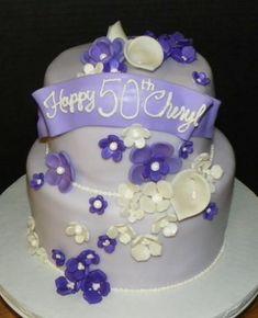 Plumeria Cake Studio: Purple Flowers