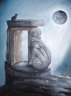 """Art peinture originale"""" Eternity"""". : Peintures par atelier-les-naturels"""