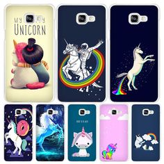 My Unicorn Hard White Coque Shell Case Cover Phone Cases for Samsung Galaxy A3 A5 A7 2016 2017 A8 A9