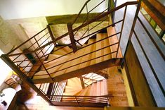 escaliers métal sur mesure, pieces uniques Stairs, Home Decor, Wood Steps, Stairway, Decoration Home, Staircases, Room Decor, Stairways, Interior Design