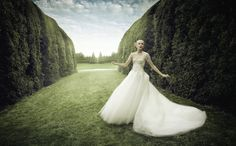 Cade Martin's Fairy Tale Wedding - My Modern Metropolis. Washington, D.C.-based photographer Cade Martin.  In his signature style, Martin mixes fairy tales and weddings to create a stunning set of images that are as whimsical as they are romantic. As a collaboration with Design Army, this project was the result of two rigorous days of shooting in a beautiful topiary garden just outside of Baltimore, Maryland.