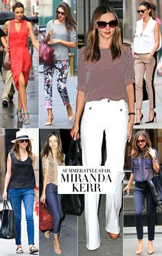 BAZAAR Boards: Miranda Kerr, Summer Style Star