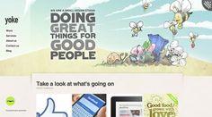 example of screenshots in web design