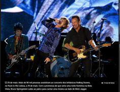 Rolling Stones ao vivo em Lisboa no Rok in Rio
