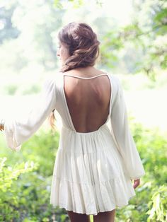 Altar'd State Backless Peasant Dress
