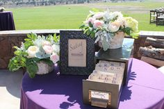 Wedding place cards.