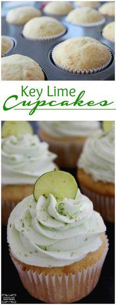 Easy Key Lime Cupcakes Recipe! Homemade Dessert Recipe!