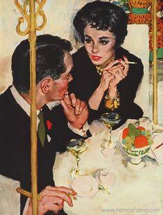 Vintage Illustration Joe De Mers 1958 Sat. Evening Post