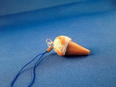 Icecream phone charm made from polymer clay!
