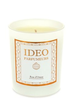 Rose d'Orient  Scented Candle by Ideo Parfumeurs